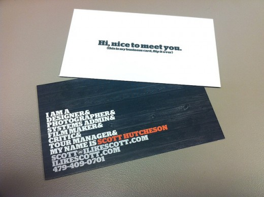 30 Clever Double Sided Business Cards Examples - ColorLava