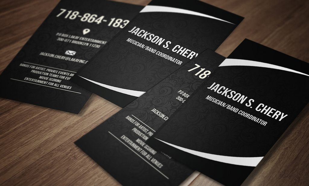 Awesome Musician Business Cards Gallery - Card Design And Card Template