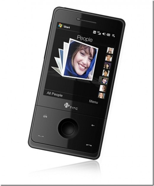Drawing a HTC Touch Pro Mobile Phone
