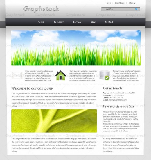 How to create a clean business layout