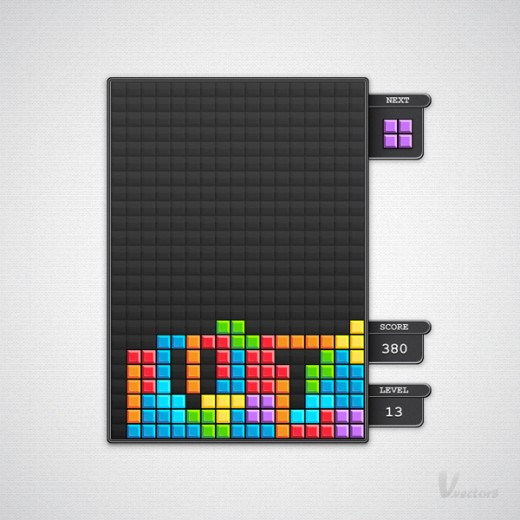 Create a Block Game Interface in Illustrator