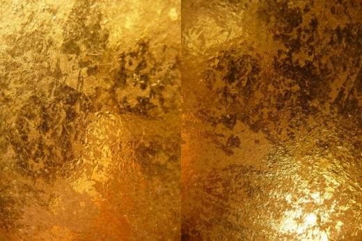 Gold Metallic Texture III