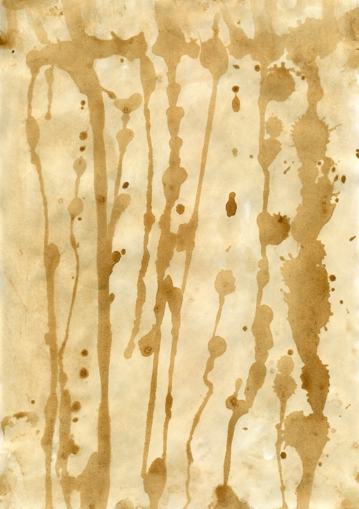 Grunge Stained Paper Texture2