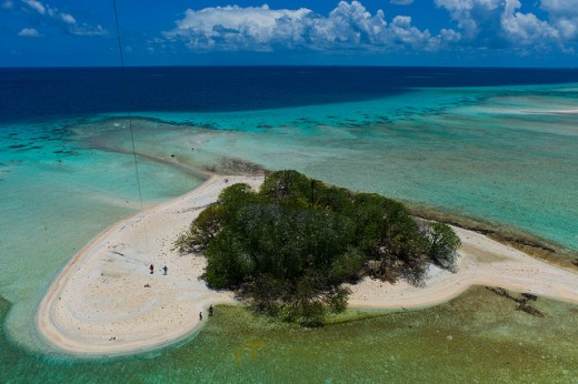 Reef Kite Aerial Photography