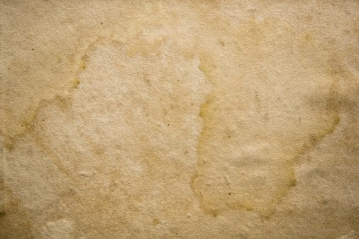 Waterstained Endpaper