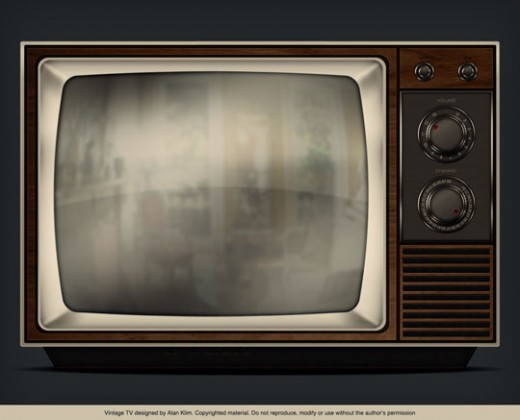 Create a Detailed Vintage TV in Photoshop