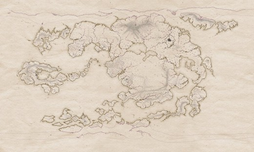 Avatar Physical World Map