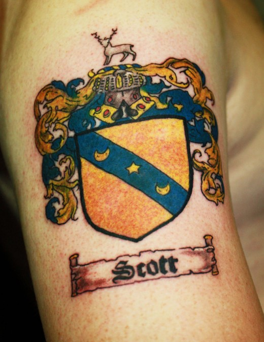 Family Crest for Scott Family