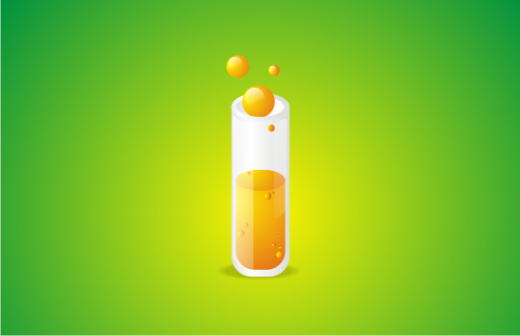 Create a Glossy Test Tube Icon using CorelDRAW
