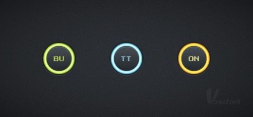 Create a Set of Glowing Buttons in Adobe Illustrator