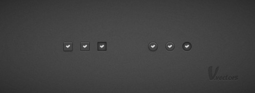 How to Create a Set of Dark Check Buttons