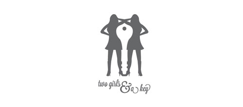 Two Girls & A Key Logo