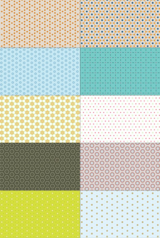 100+ Amazing Free Abstract Patterns for Photoshop - ColorLava