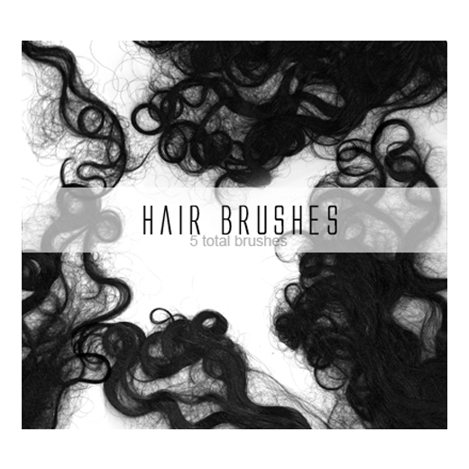 25 Free Photoshop Hair Brushes Sets To Free Download - ColorLava