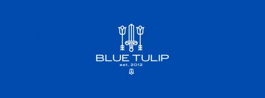 Blue Tulip men fashion logo design