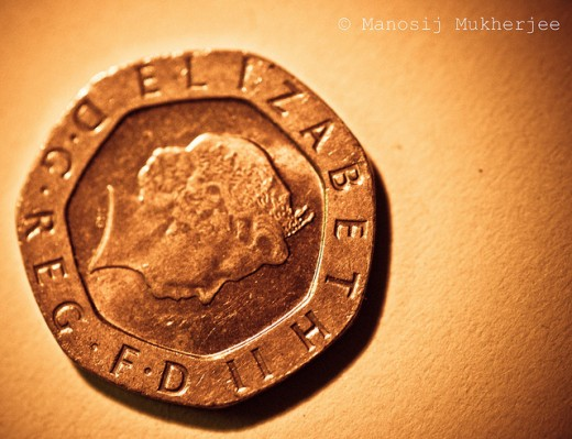 British Coin-Twenty Pence