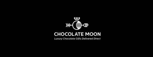 Chocolate Moon luxury chocolate logo design