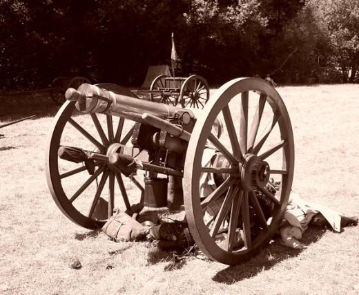 Civil War Cannon by Nogard119