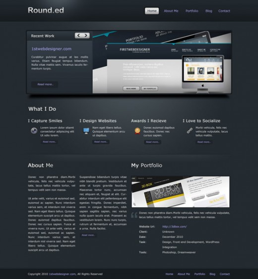 Create A Detailed Solid Dark Layout