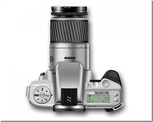 Create a Digital Camera from Scratch in Photoshop