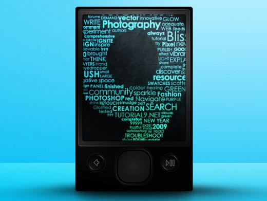 Create a Vector-Based Zune with Photoshop