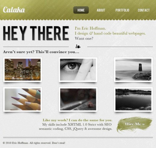 Create an Elegant Patterned Web Design in Photoshop