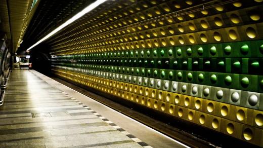 Malostranska Metro Station 2