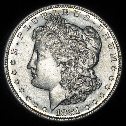Morgan Dollar, Axial Lighting