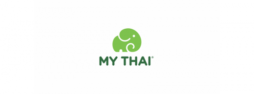 My Thai fast food restaurant chain logo design