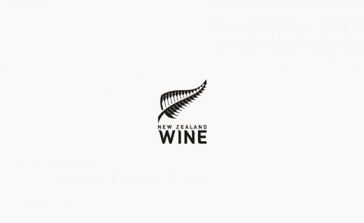 New Zealand Wine logo design
