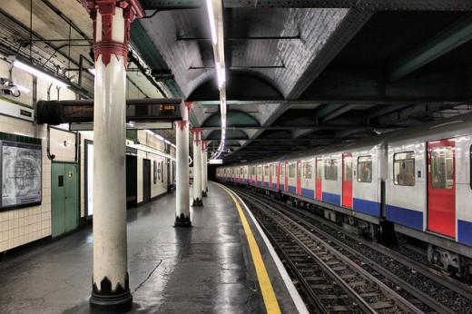 Temple Underground Station, London