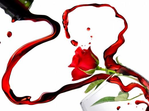 WineHeart Rose