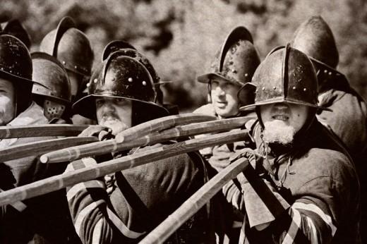 civil war enactment