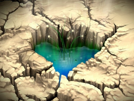 A broken heart can be healed