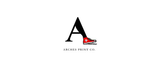 Arches Print Co Logo
