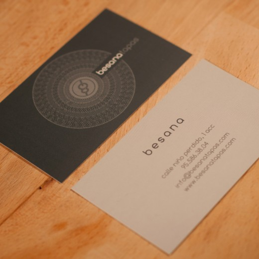 Besana Tapas Business Card