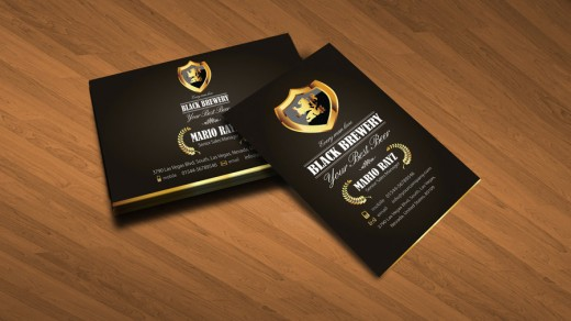 Black brewery business card v3