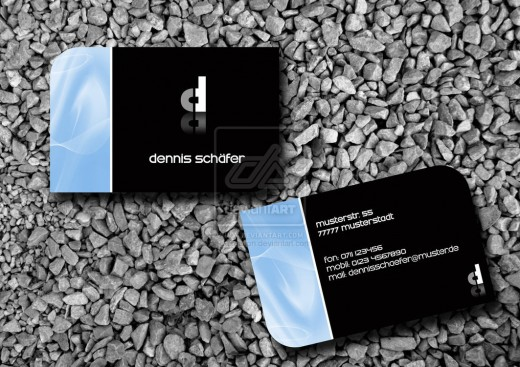 Business Card 1by d creation