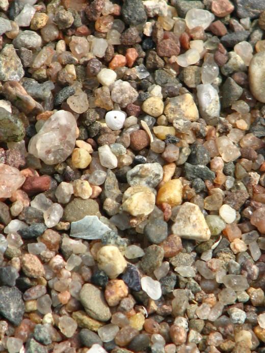 Course Gravel Texture