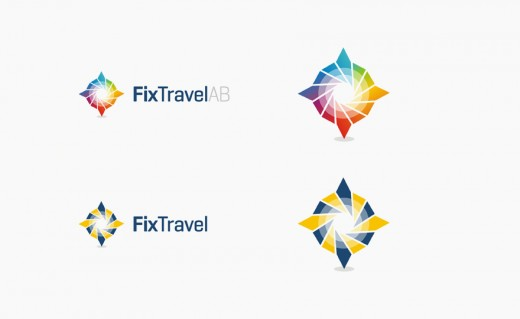 Fix Travel logo design
