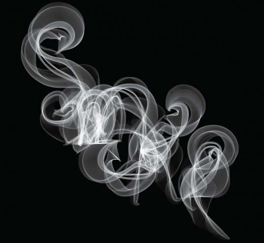 How to Create Smoky Brushes and Type In Illustrator CS4