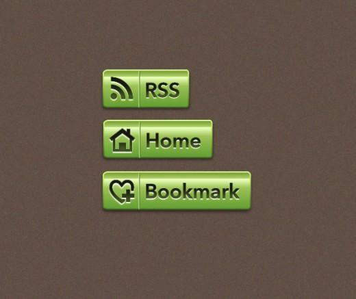 How to Make an Ultra Glossy Scalable Web Button with 9-Slice Scaling