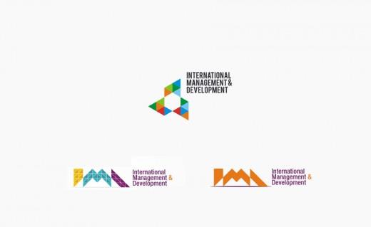 International Management & Development logo design