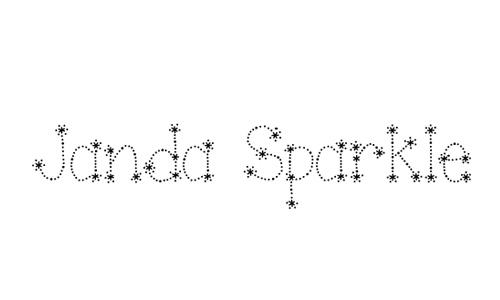 Janda Sparkle and Shine Font