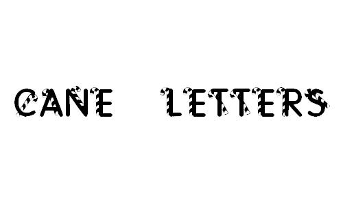 KR Cane Letters