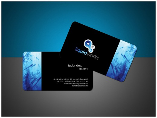 LiquidWorks Business Card