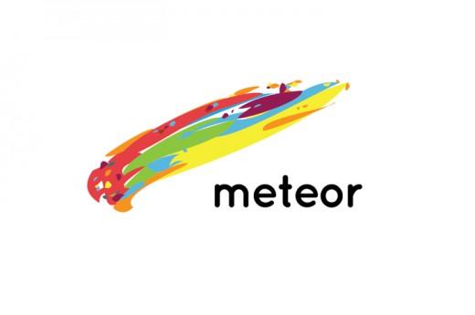 Meteor Logo Design