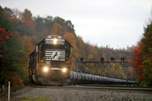 NS Bomb train