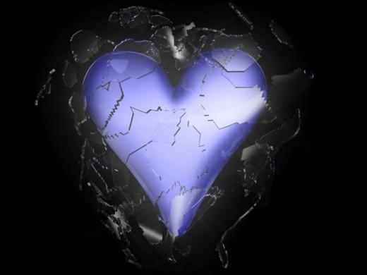 Shattered Heart HD Wallpaper