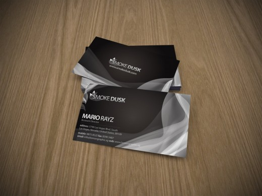 Smokedusk business card